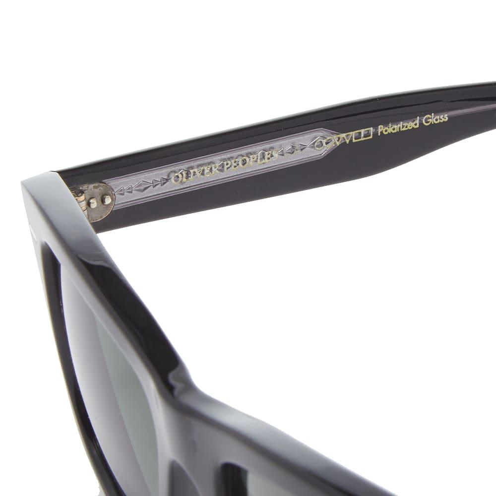 Oliver Peoples  Oliver Sunglasses - Black & Green