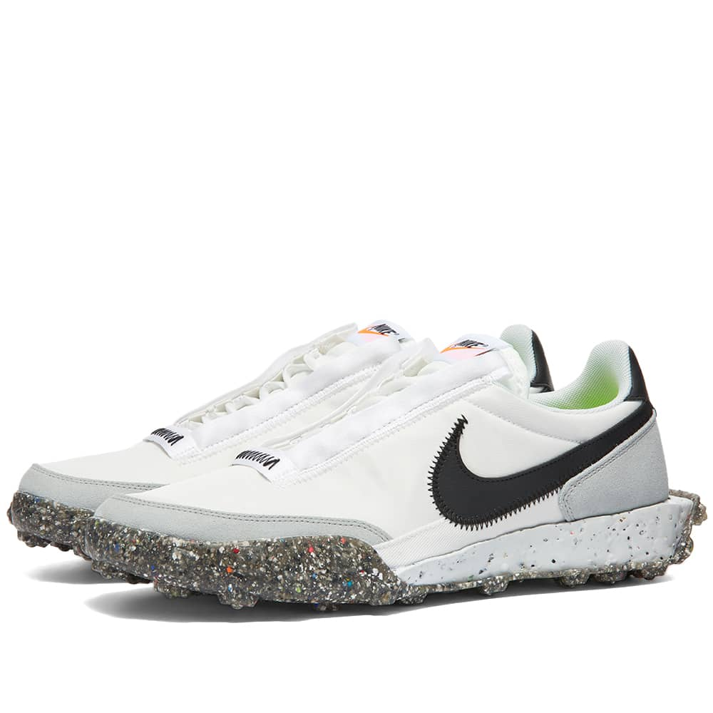 Nike Waffle Racer Crater W - White, Black & Photon Dust