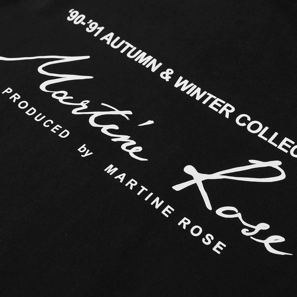 Martine Rose Classic Logo Tee - Black