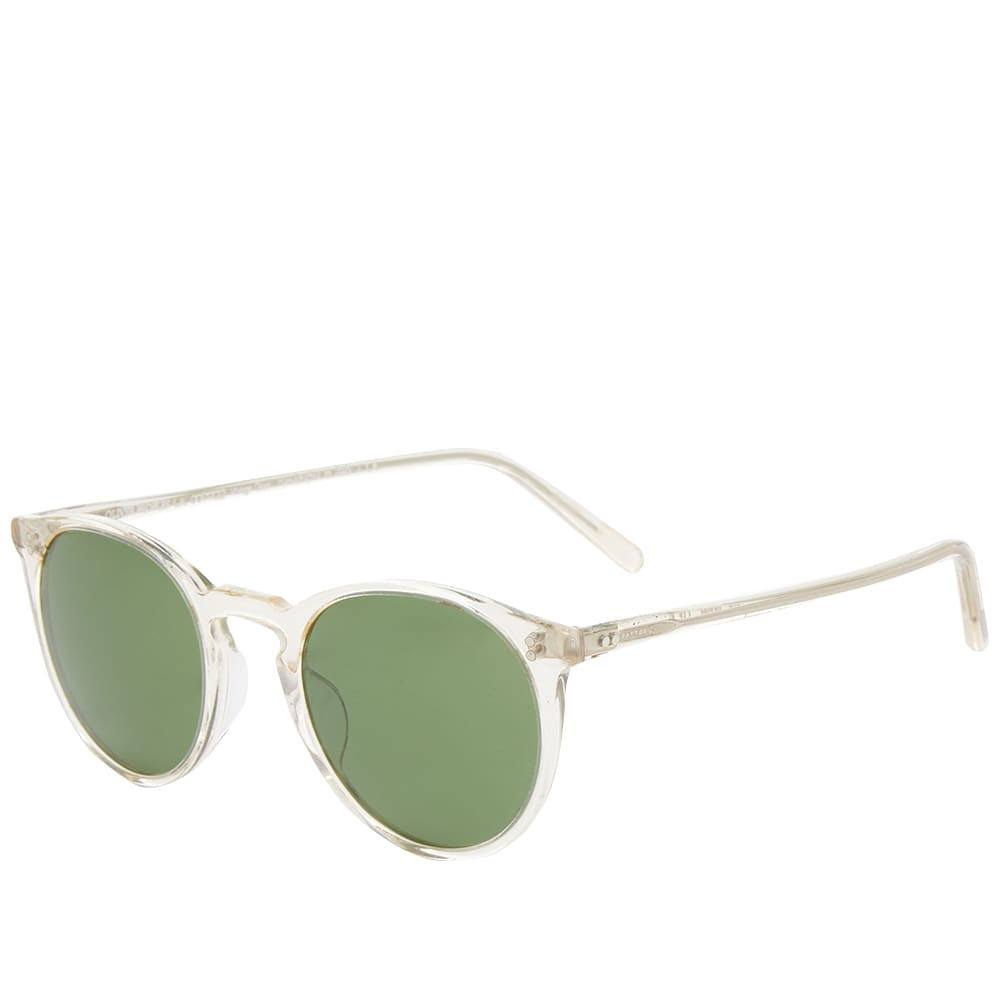 Oliver Peoples  O'Malley Sunglasses - Buff & Green