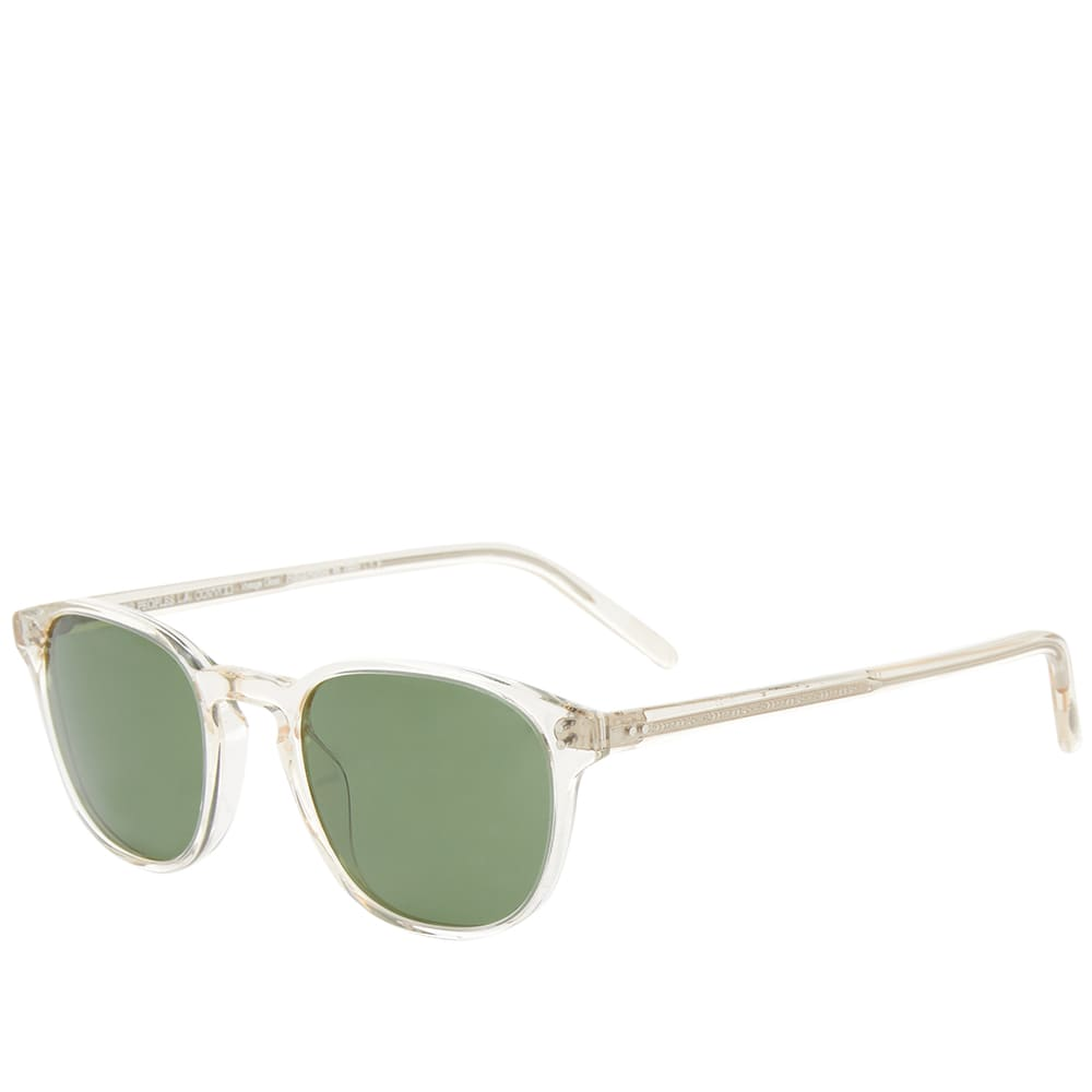 Oliver Peoples  Fairmont Sunglasses - Buff & Green