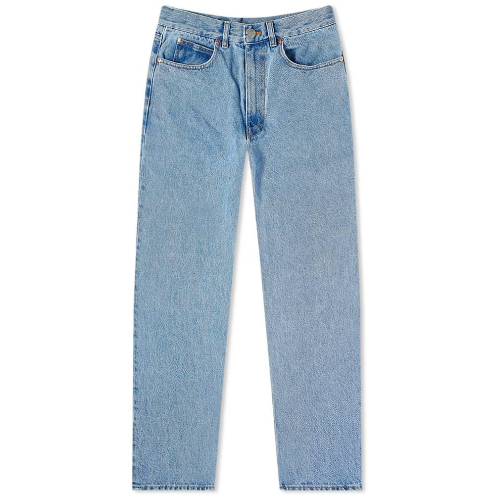 Martine Rose Maynard Straight Leg Jean - Blue Denim