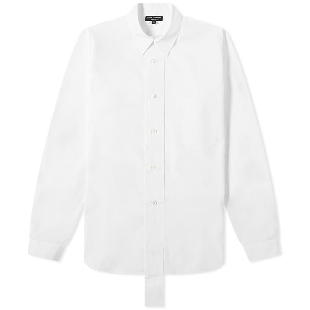 Comme des Garcons Homme Plus Long Placket Shirt - White