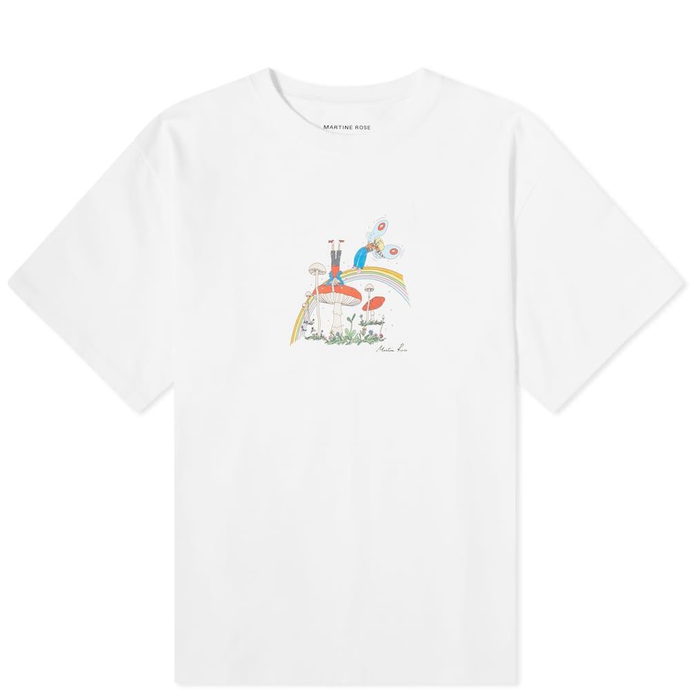 Martine Rose Cartoon Logo Tee - White