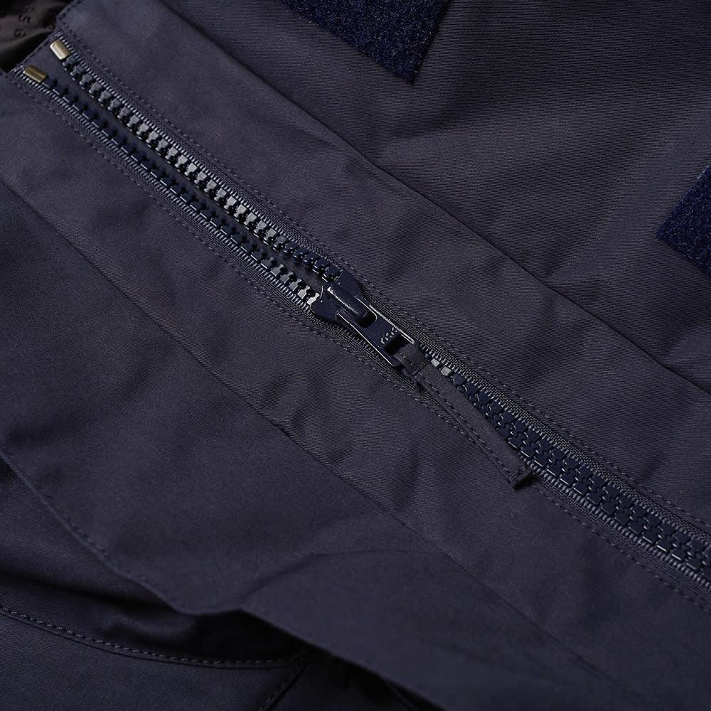 4SDesigns NF Coat - Navy Bonded Cotton