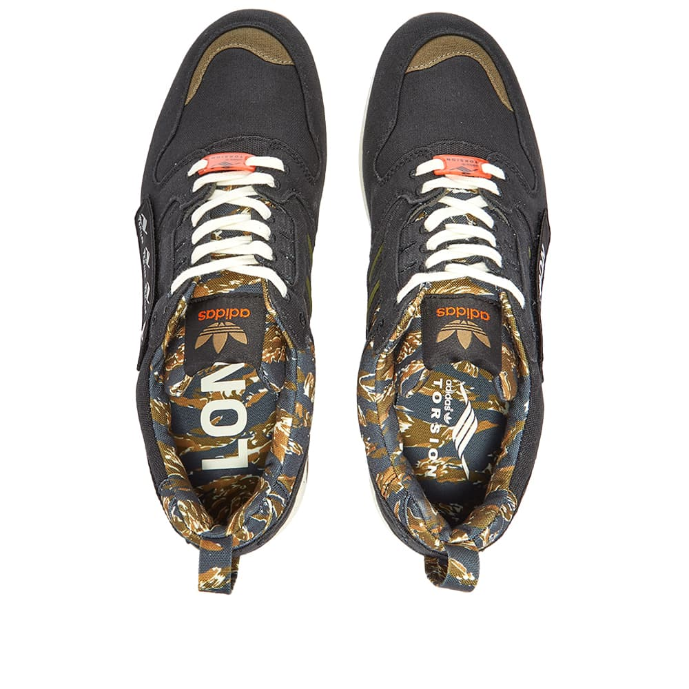 Adidas x Out There ZX 8000 - Core Black & Orange