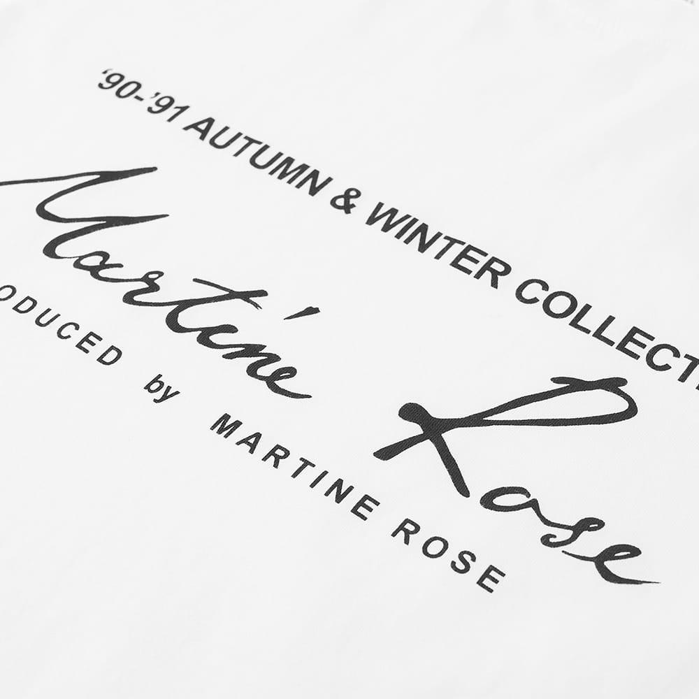 Martine Rose Classic Logo Tee - White