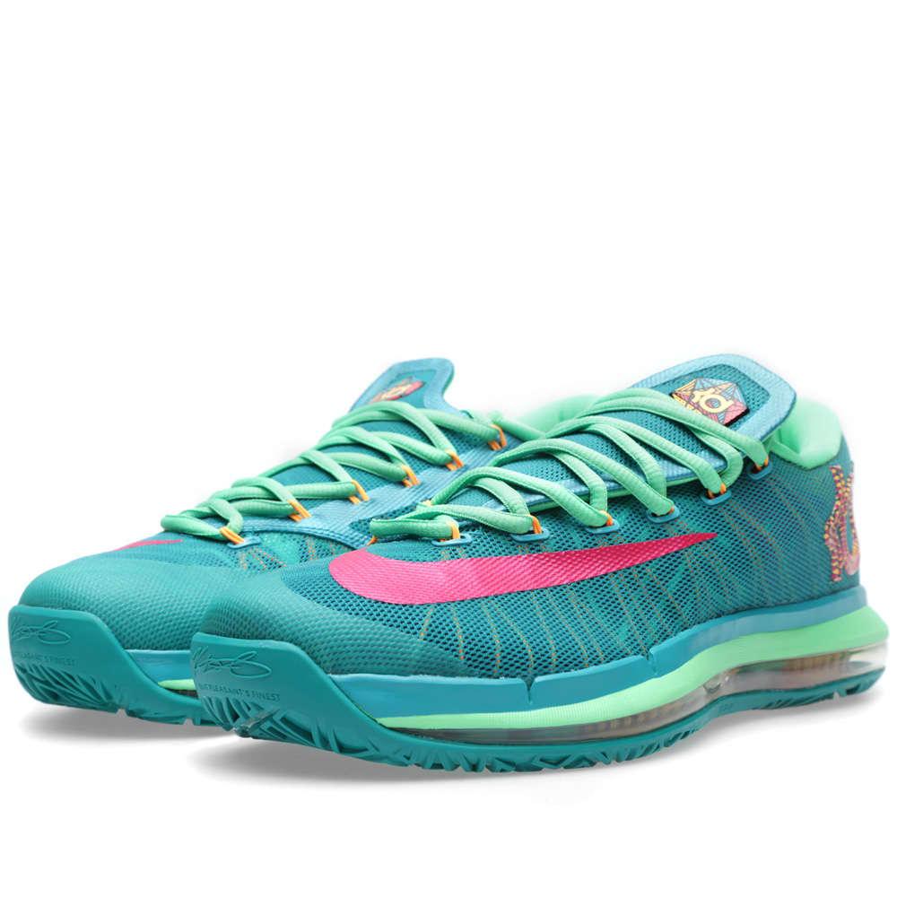 Nike KD VI Elite 'Hero' - Turbo Green & Vivid Pink