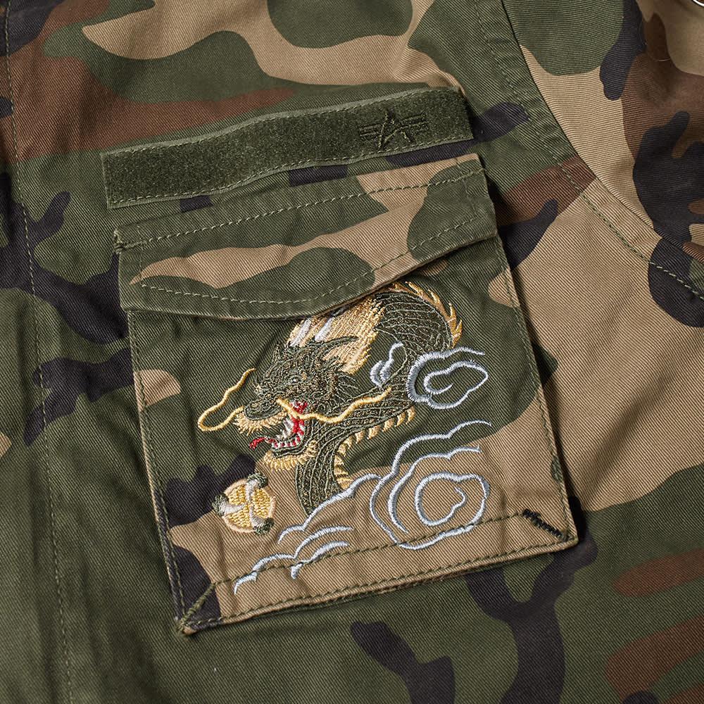 Alpha Industries Huntington Dragon Jacket - Sage