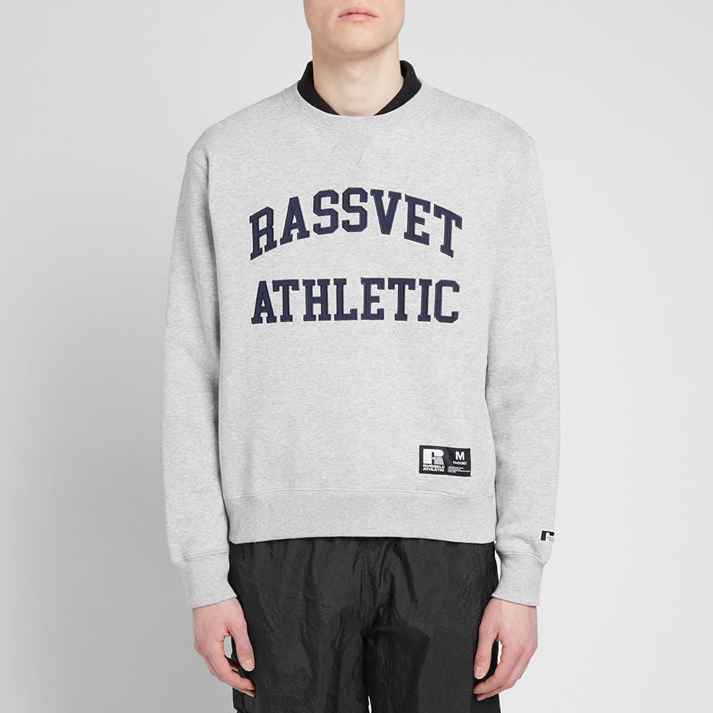 PACCBET x Russell Athletic Crew Sweat - Grey