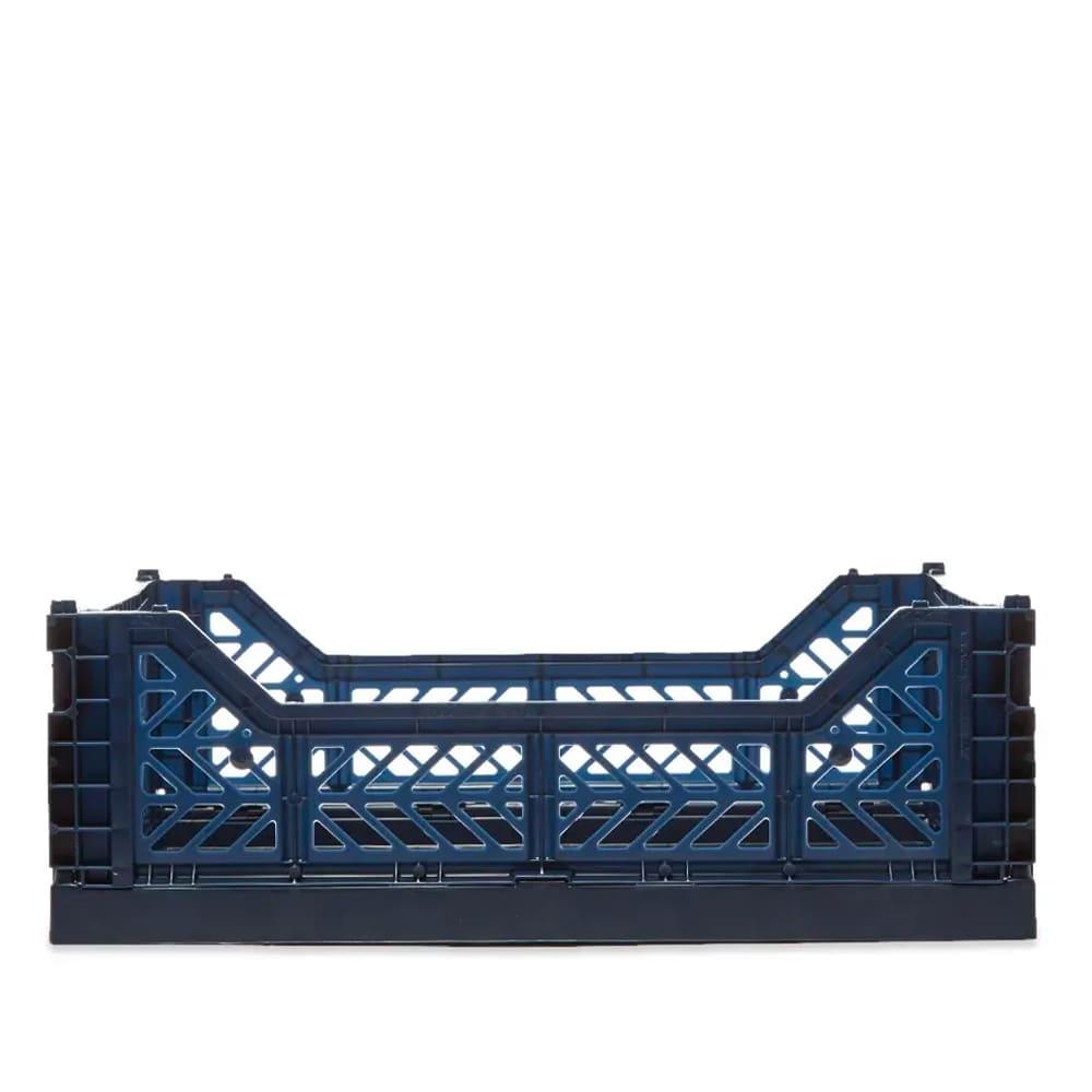 HAY Medium Colour Crate - Navy