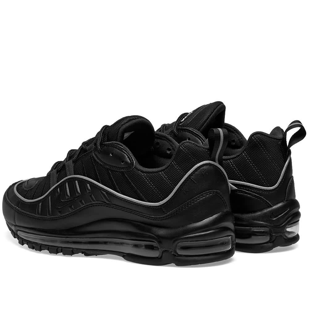 Nike Air Max 98 W Black \u0026 Off Noir | END.