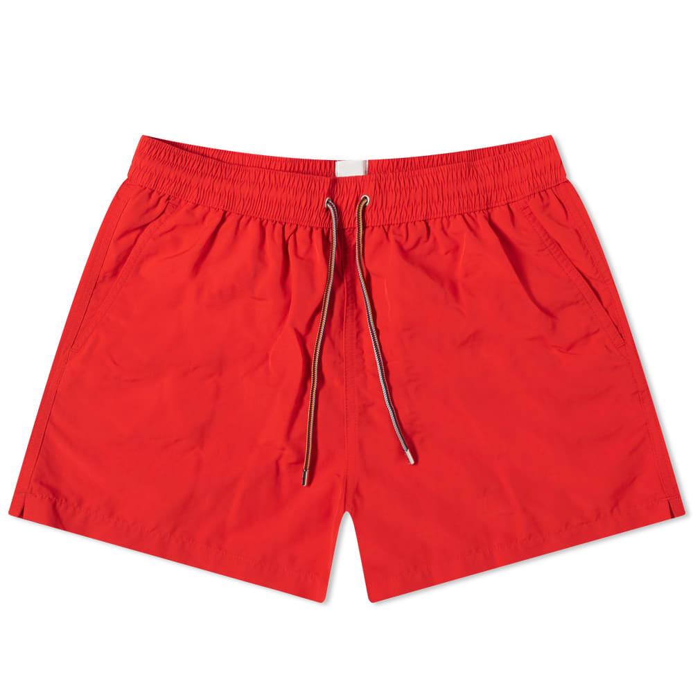 Paul Smith Classic Swim Short - Red