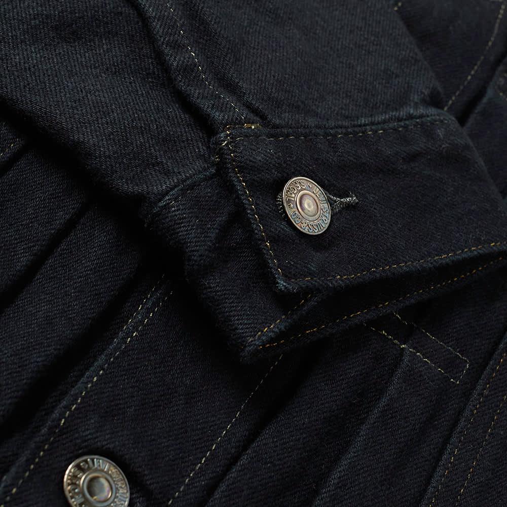 Levi's Vintage Clothing Type II Denim Jacket - Black Lizard