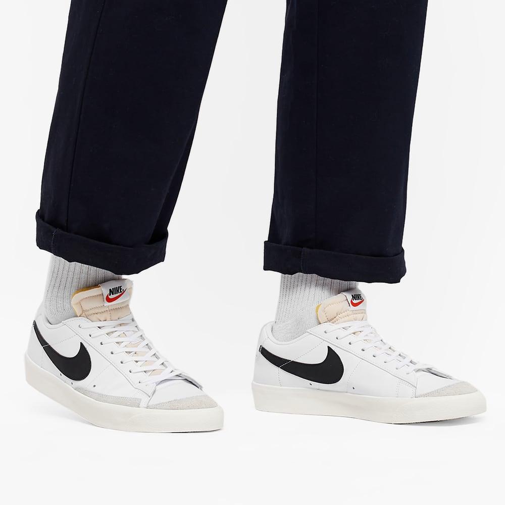 Nike Blazer Low 77 VNTG - White, Black & Orange