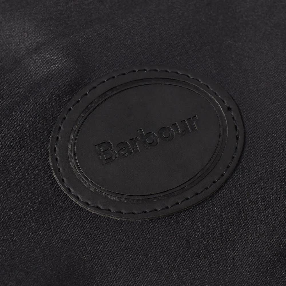 Barbour Wax Dog Coat - Navy