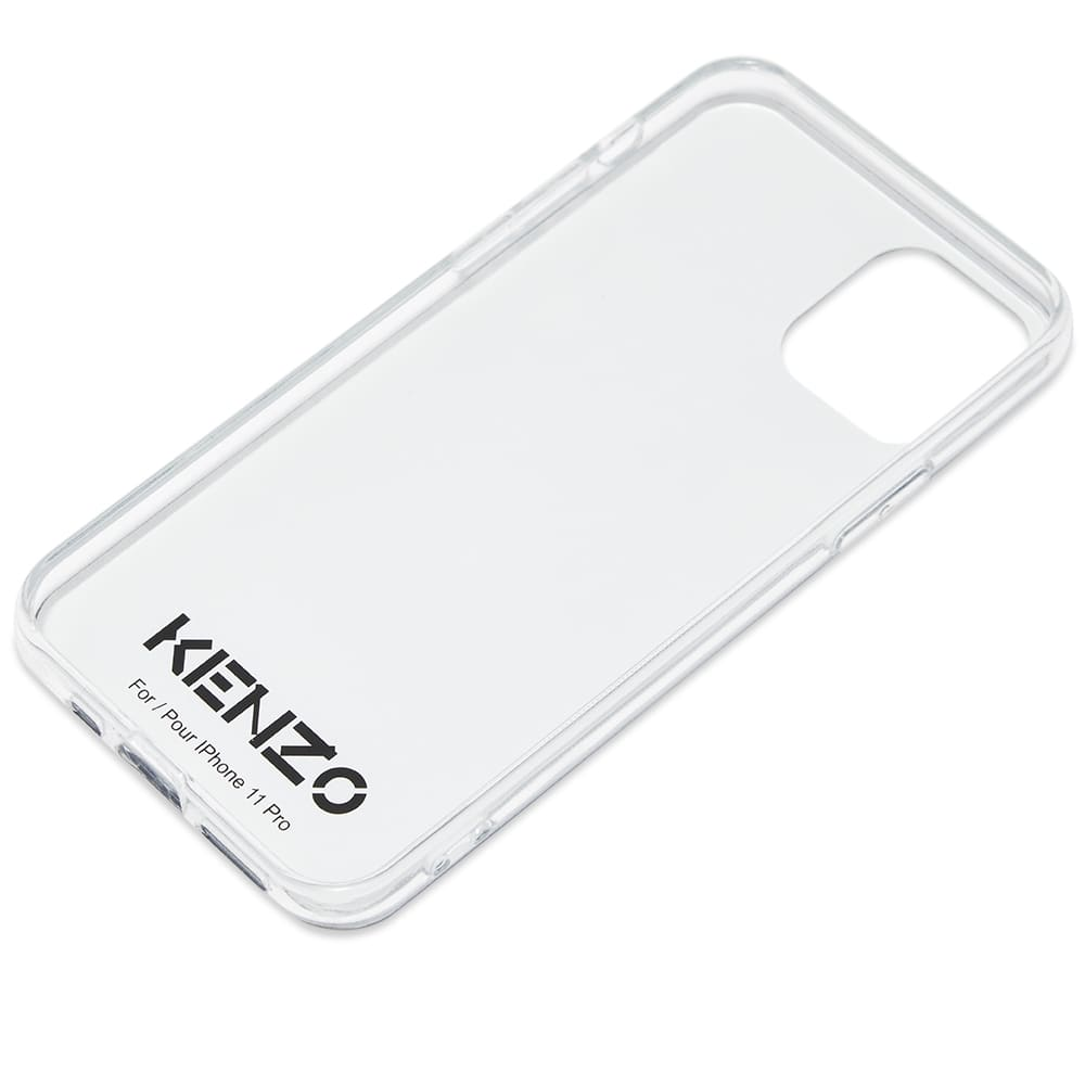Kenzo Tiger Logo iPhone 11 Pro Case - Faded Pink
