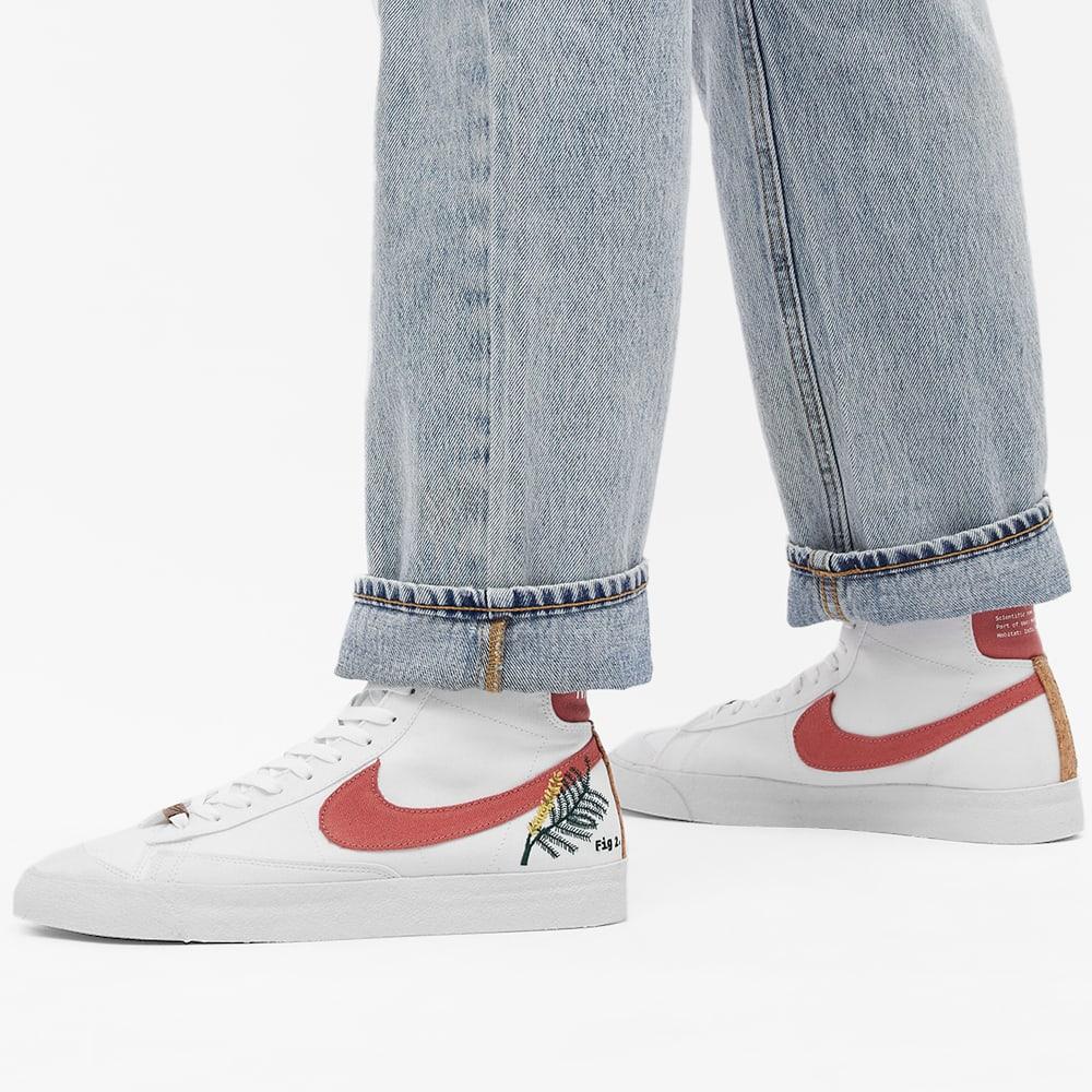Nike Blazer Mid 77 M2Z2 W - White & Light Sienna
