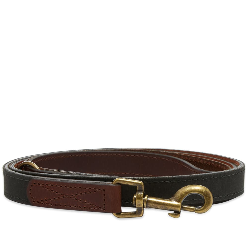 Barbour Wax/Leather Dog Lead - Olive
