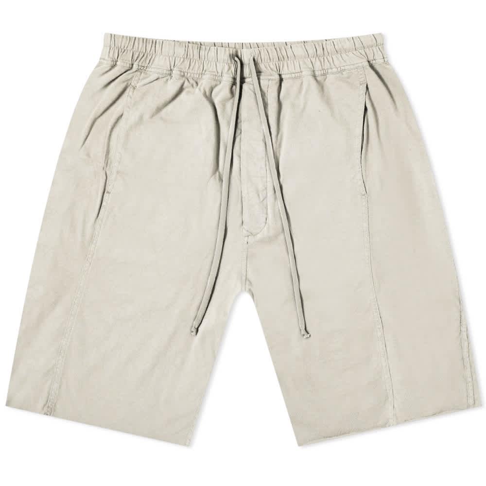 Rick Owens DRKSHDW Lightweight Pusher Shorts - Oyster