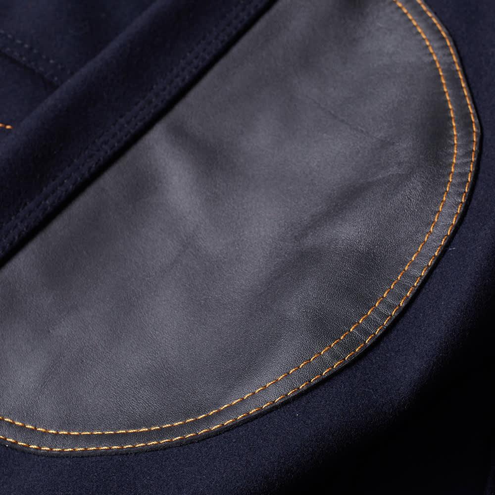 Coach Indigo Barn Wool Jacket - Navy & Black