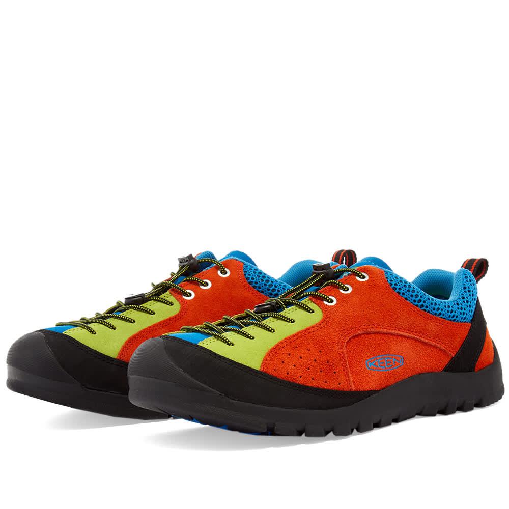 KEEN Jasper Rocks SP - Safety Orange & Brilliant Blue
