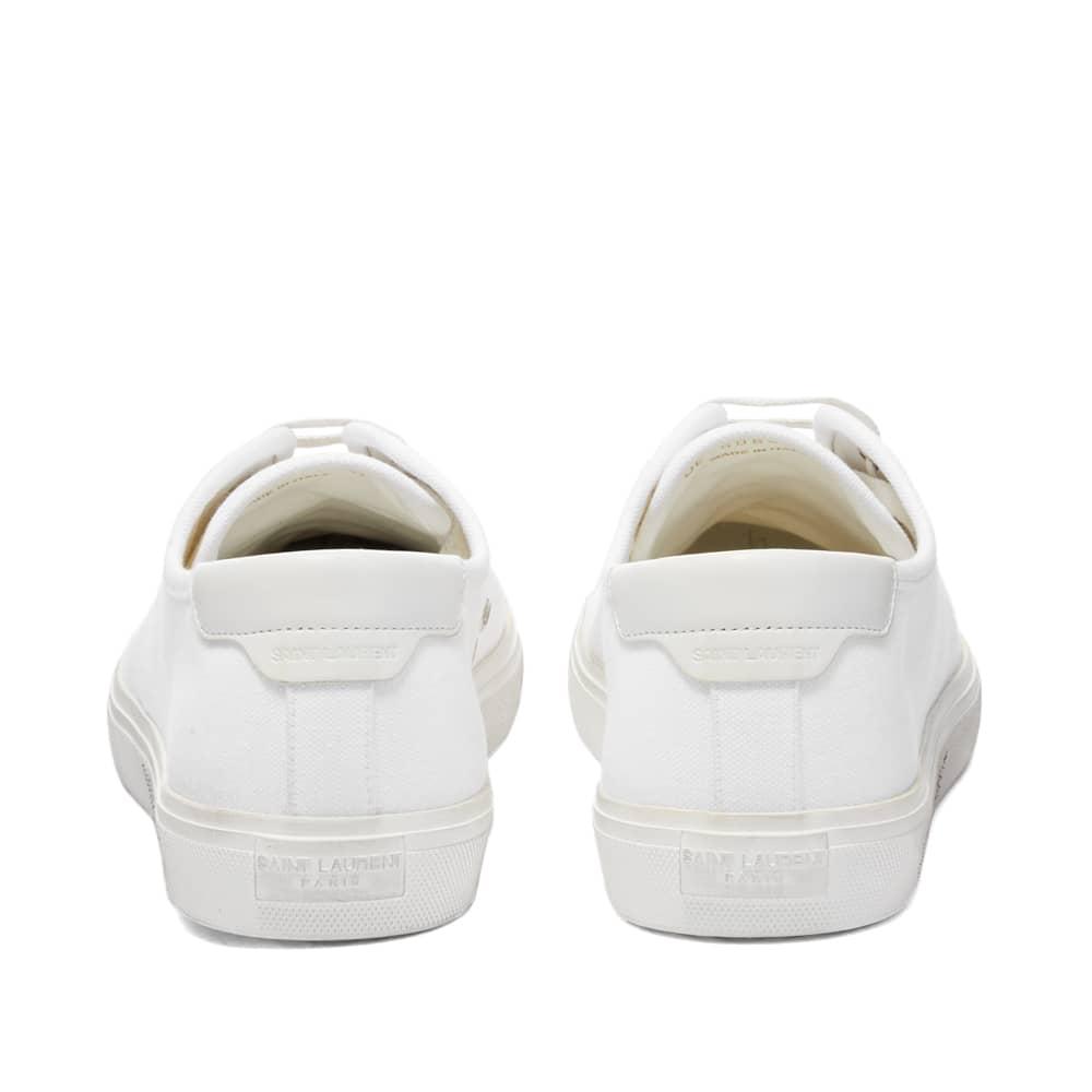 Saint Laurent Malibu Signature Sneaker - White