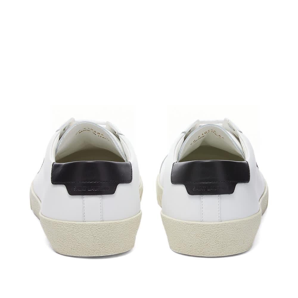 Saint Laurent SL-06 Court Signature Sneaker - White