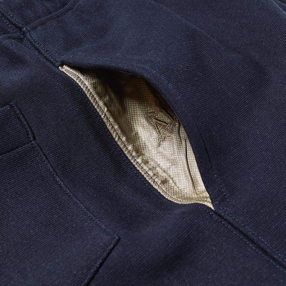 Advisory Board Crystals 123 Sweat Short - Azurite Mid Blue