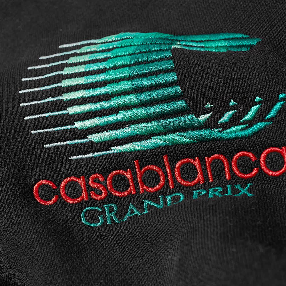 Casablanca Grand Prix Logo Hoody - Black