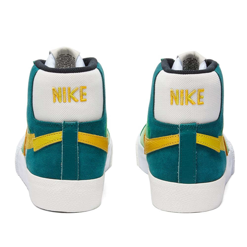 Nike SB Zoom Blazer Mid Premium - Aloe Verde & Gold