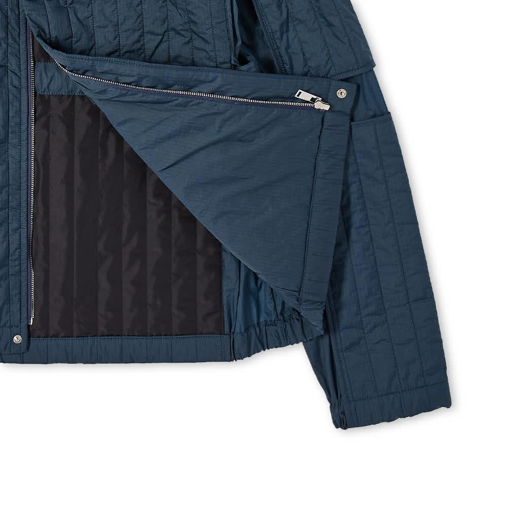 Craig Green Quilted Skin Jacket - Ocean Blue