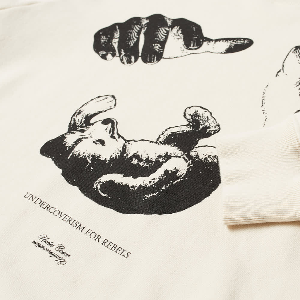 Undercover Hands Crew Sweat - Ivory