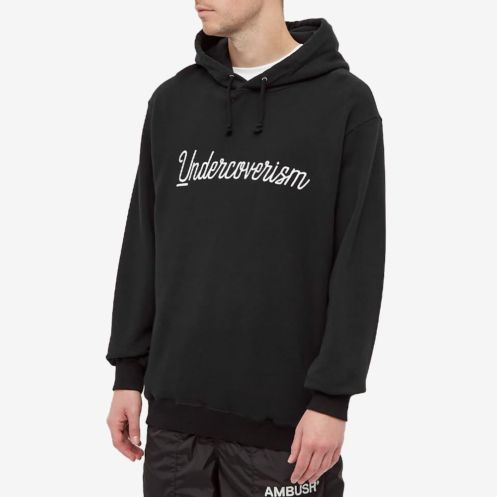 Undercoverism Logo Popover Hoody - Black