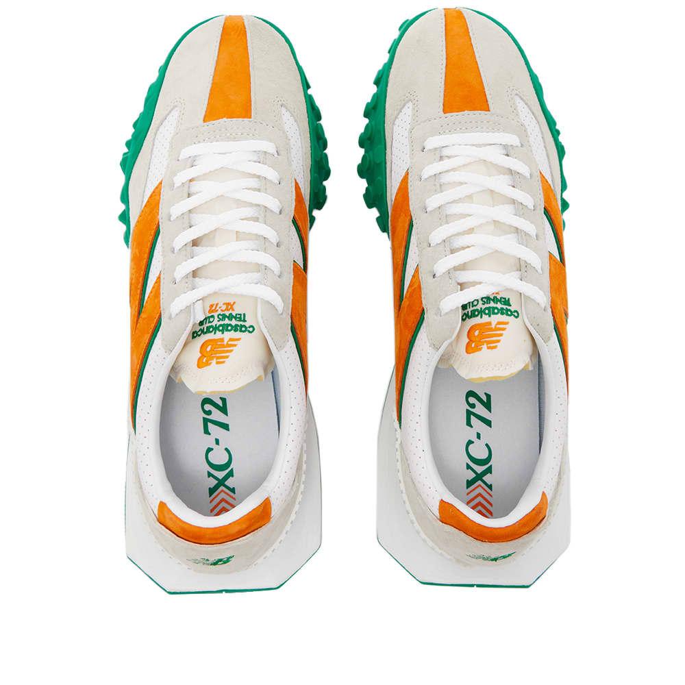 New Balance x Casablanca XC72 - White & Orange & Green