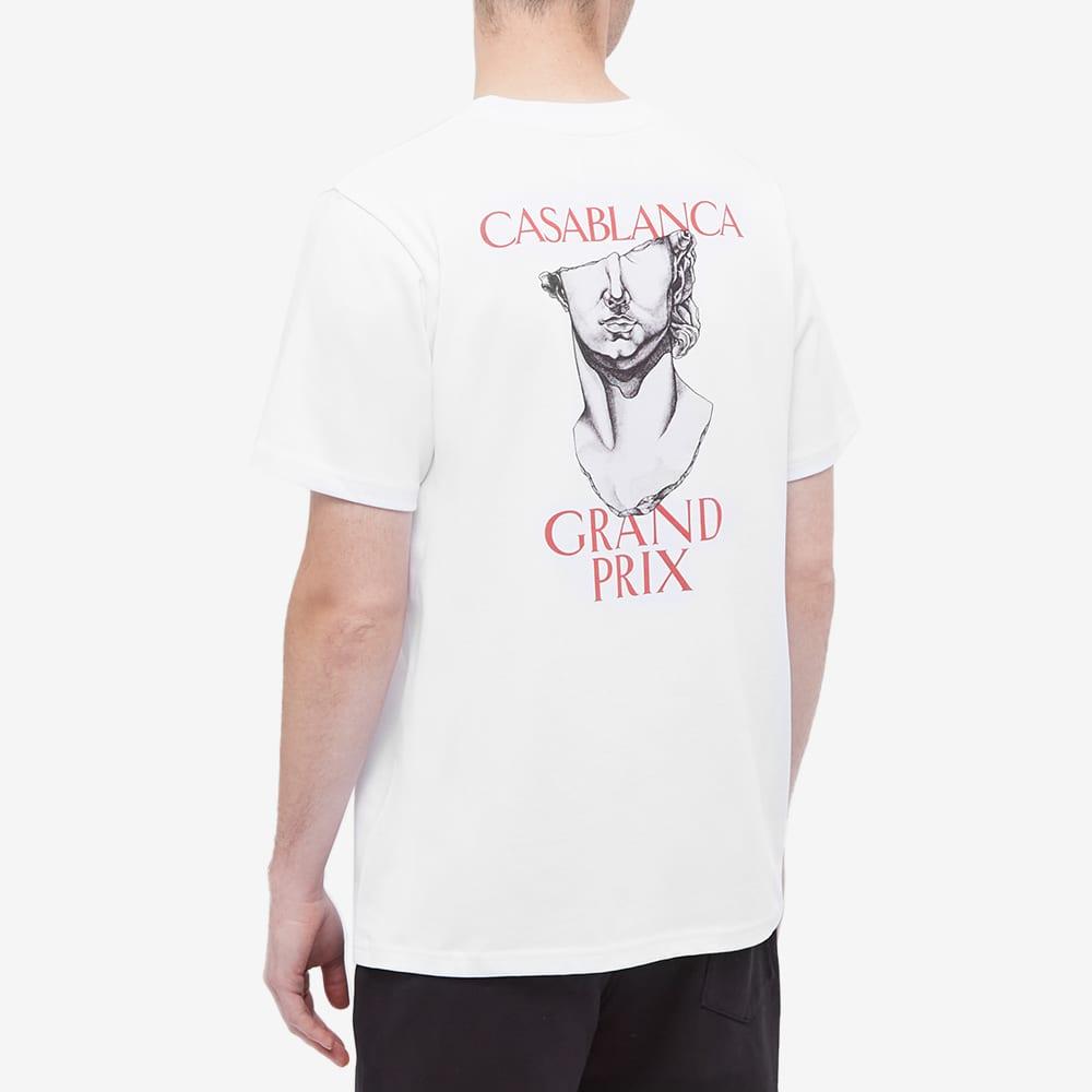 Casablanca Grand Prix Tee - White