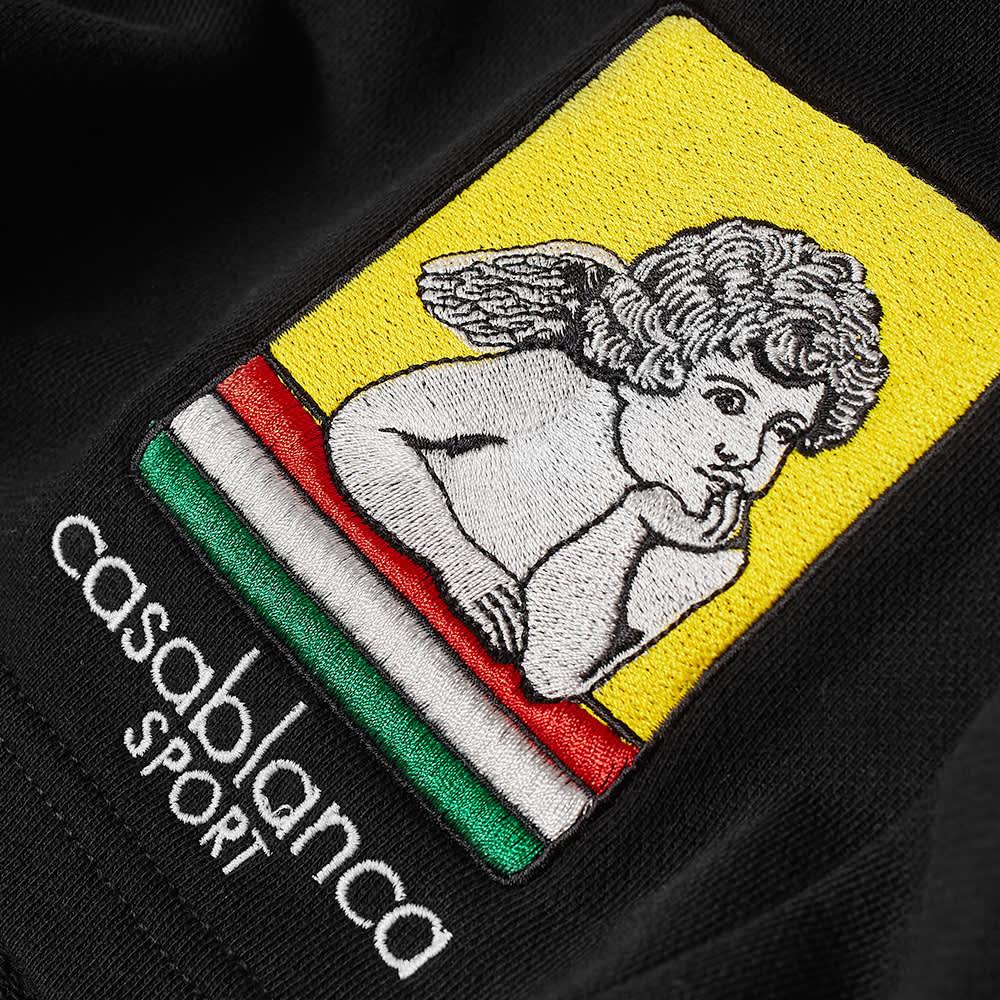 Casablanca Racing Icon Sweat Short - Black