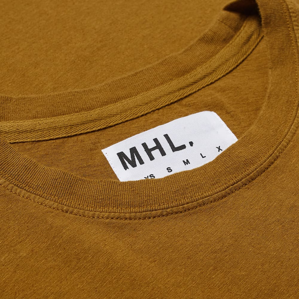 MHL By Margaret Howell Simple Tee - Mustard
