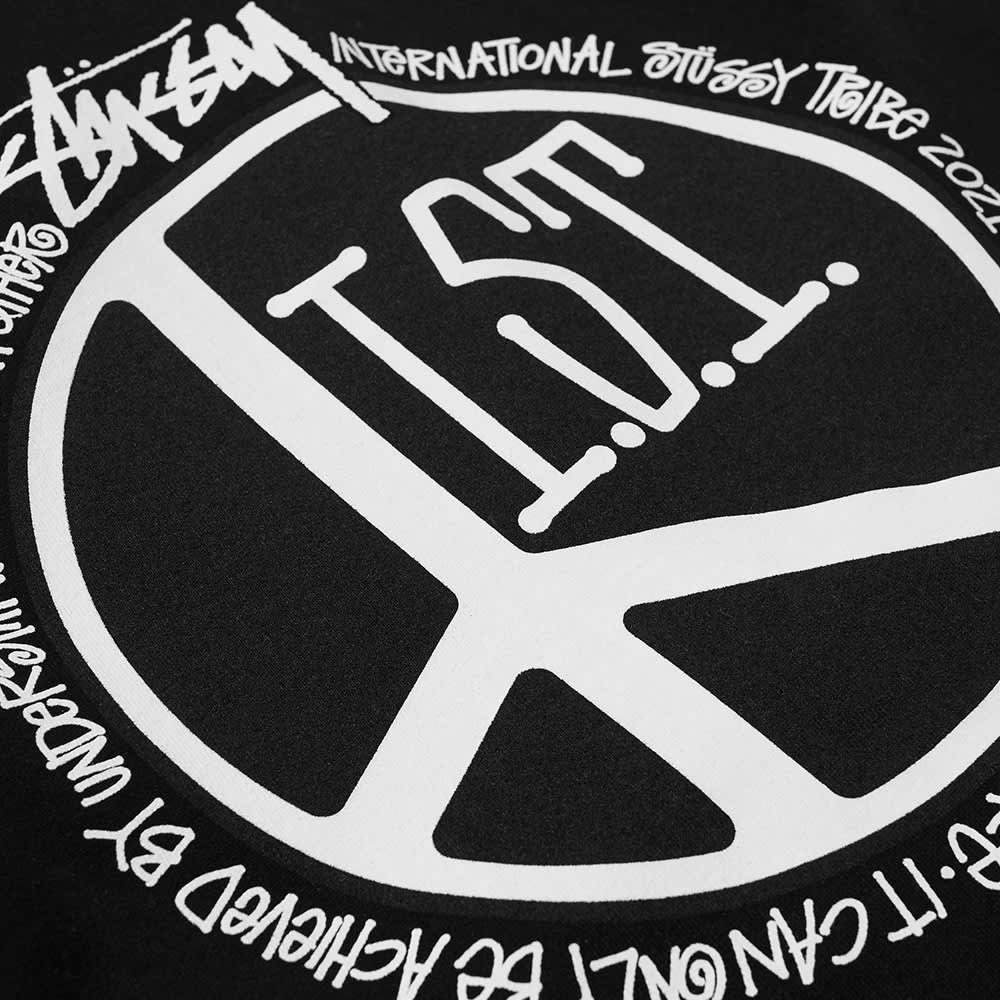 Stussy Peace Dot Hoody - Black