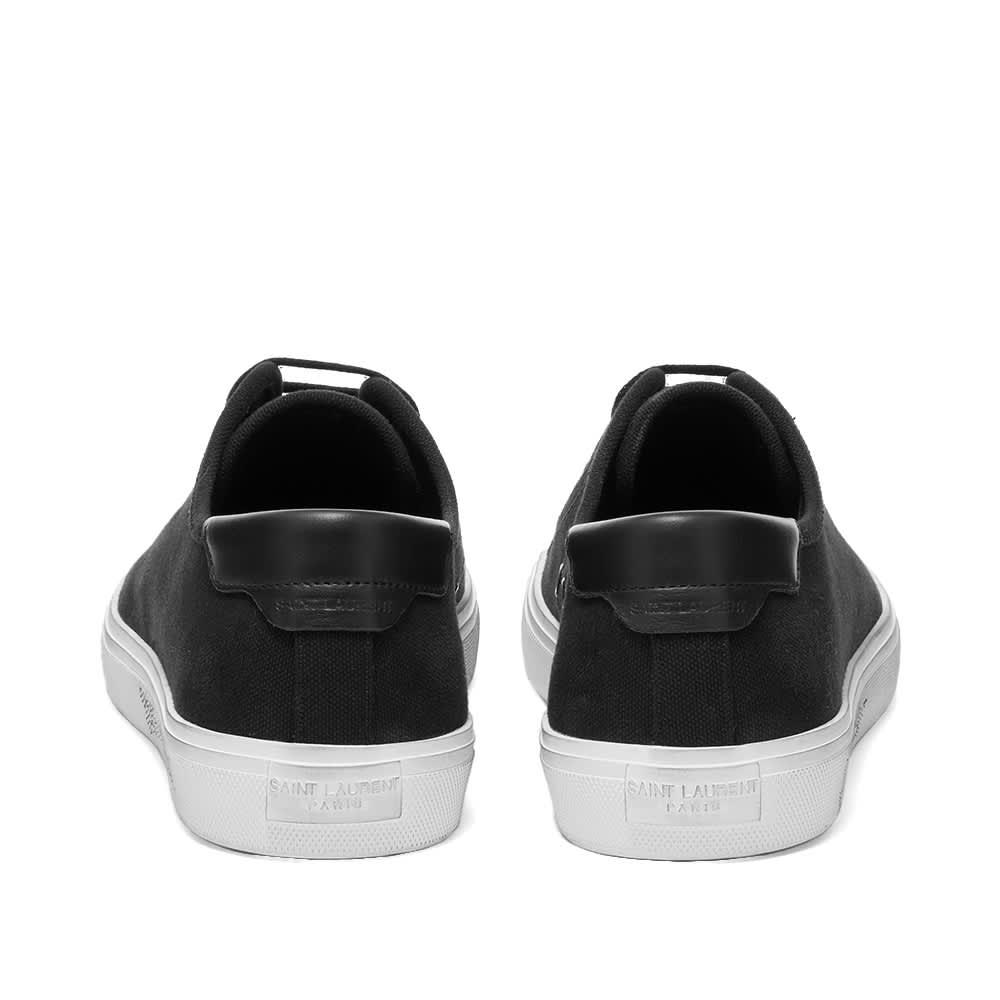 Saint Laurent Malibu Signature Sneaker - Black