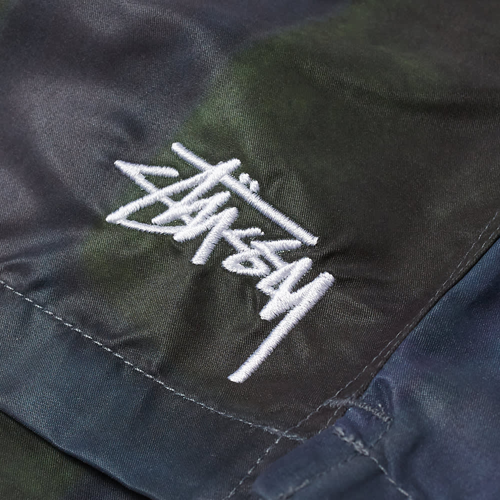 Stussy Dyed Plaid Water Short - Green