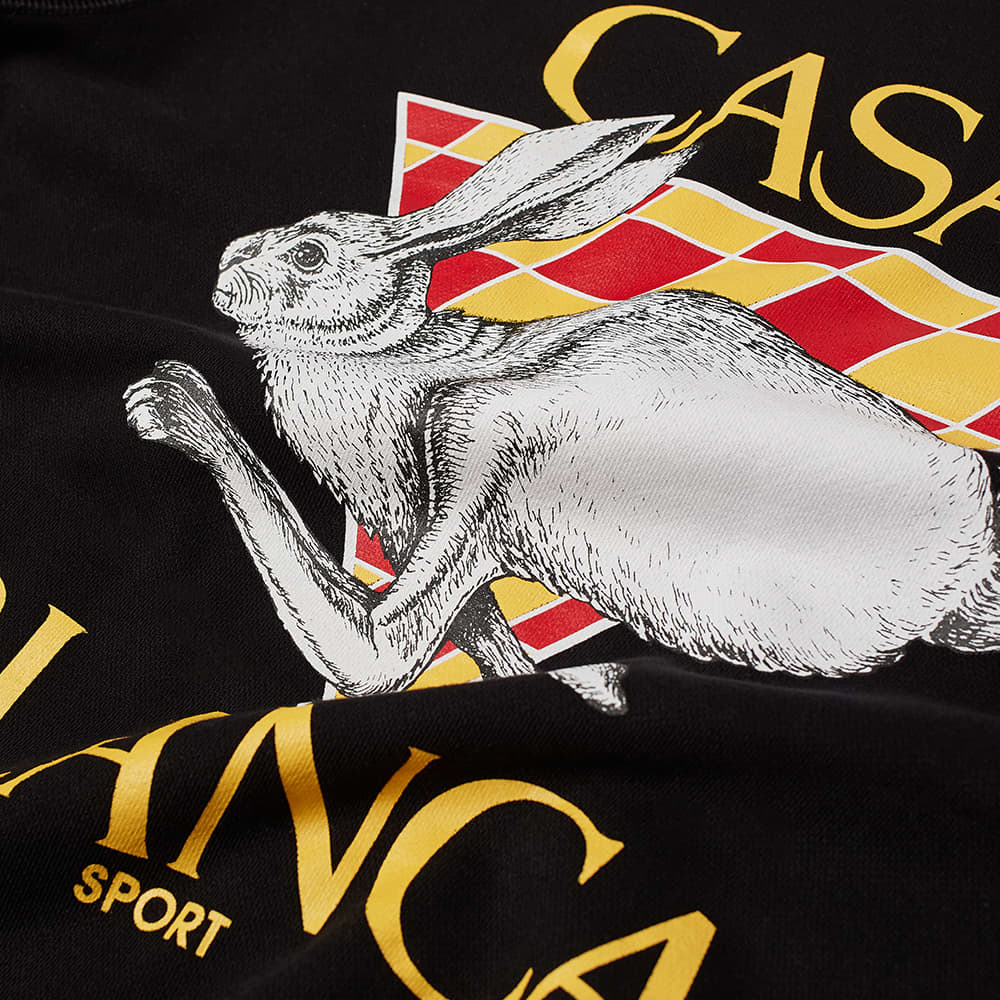 Casablanca Casa Sport Crew Sweat - Black