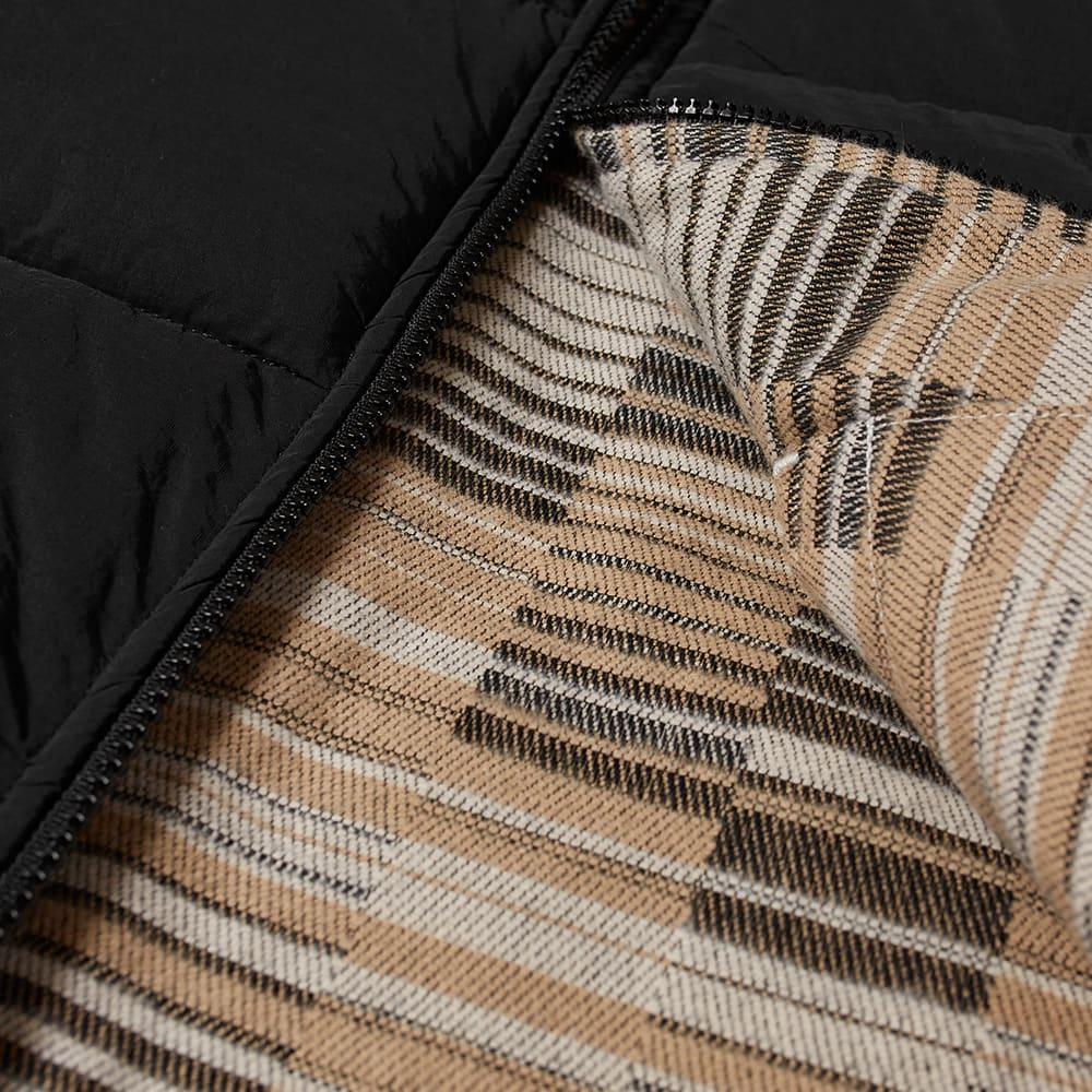Kestin Fala Reversible Vest - Black Jacquard