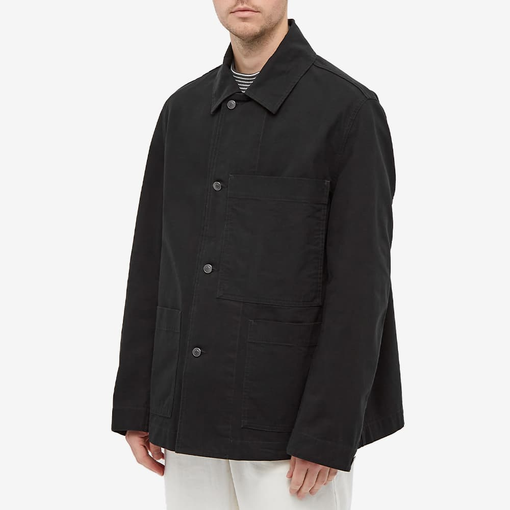 MHL By Margaret Howell Big Pocket Jacket - Black