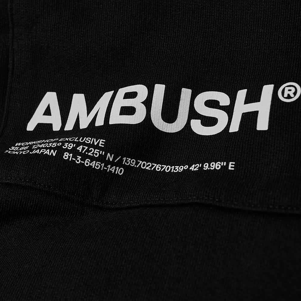 Ambush Logo Sweat Pant - Black & White