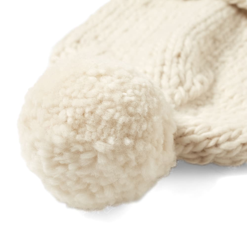 Chamula Double Cuff Beanie - Ivory