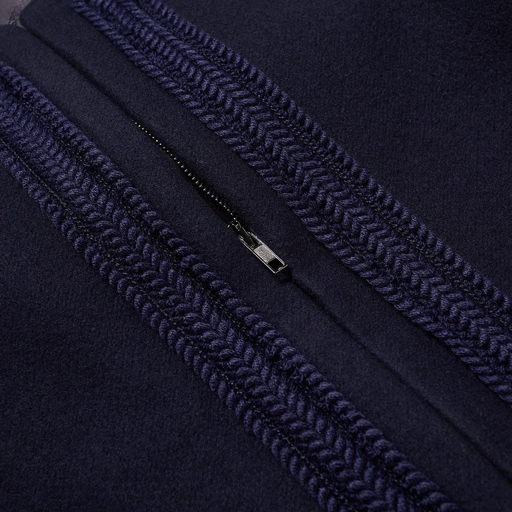 4SDESIGNS Cardigan Coat - Navy