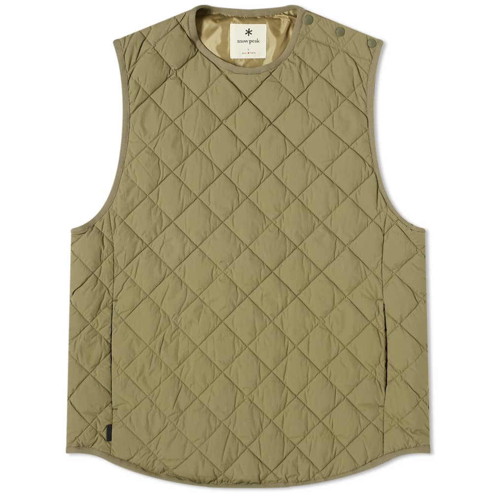 Snow Peak Recycled NY Ripstop Down Vest