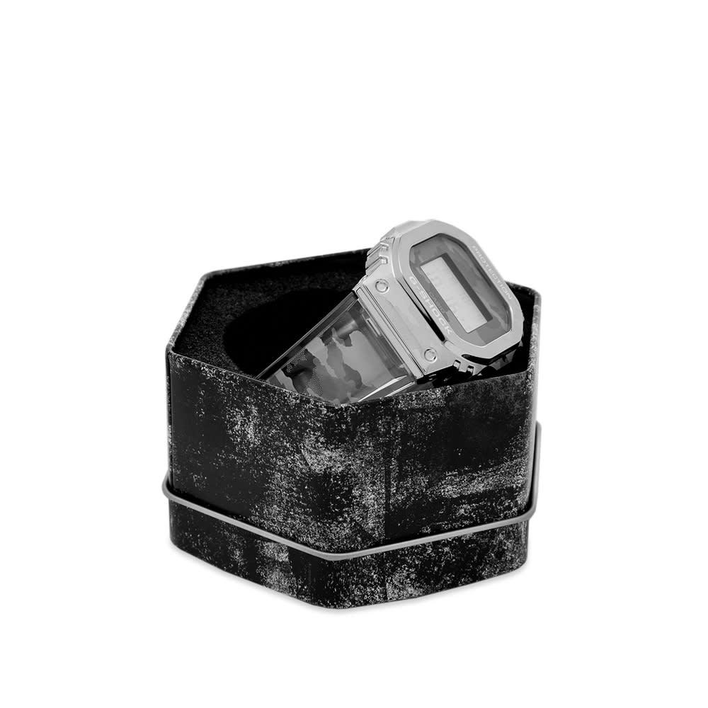 Casio G-Shock GM-5600 Transparent Watch - Camo