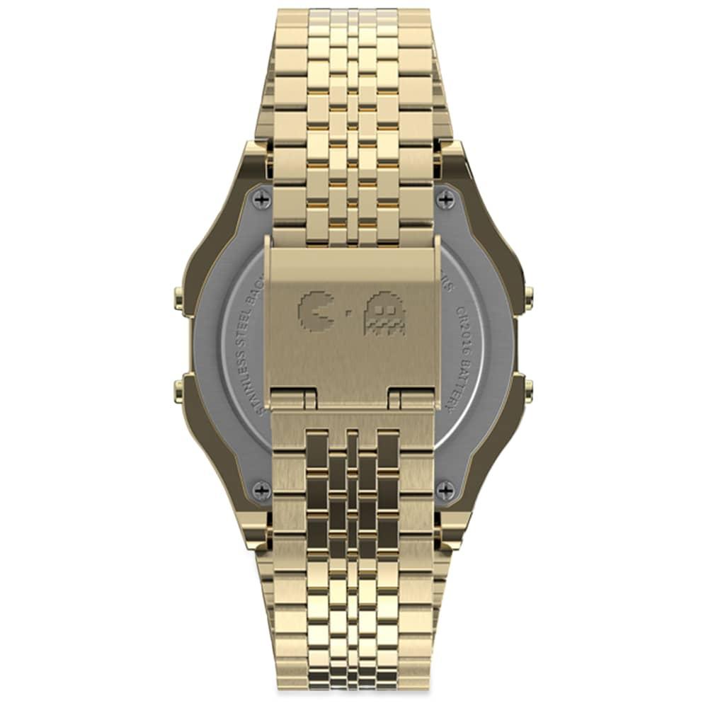Timex x Pacman Timex 80 Digital Watch - Gold